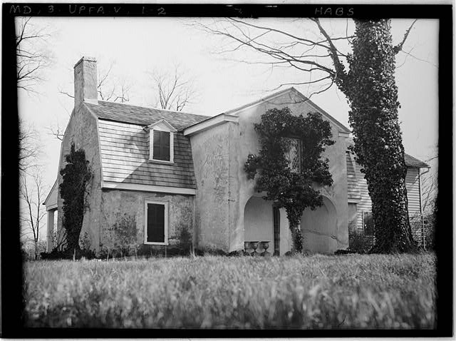 2.  Historic American Buildings Survey Henry C. Forman, Photographer, 1932. VIEW FROM NORTH - Orwell, Franklinville Road, Franklinville, Baltimore County, MD