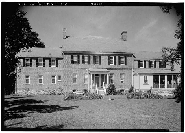 2.  Historic American Buildings Survey John O. Brostrup, Photographer September 4, 1936 2:25 P. M. VIEW FROM SOUTH. - Pleasant Hills, 14800 Fisher Avenue (State Route 107), Darnestown, Montgomery County, MD