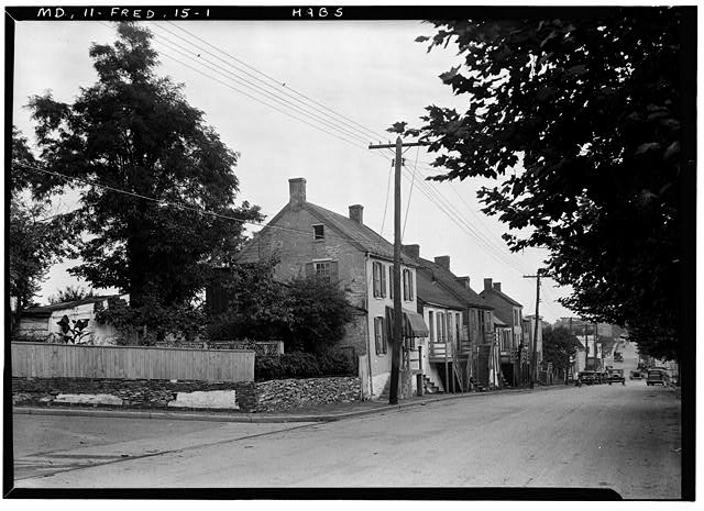 1.  Historic American Buildings Survey E.H. Pickering, Photographer Sept. 1936 - Bentz Street (Houses), Frederick, Frederick County, MD