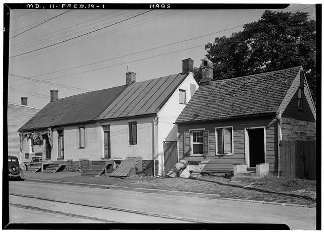 1.  Historic American Buildings Survey E.H. Pickering, Photographer Sept. 1936 - Fourth Street (Row Cottages), Fifth Street, Frederick, Frederick County, MD