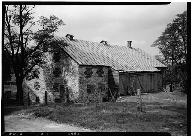 1.  Historic American Buildings Survey E. H. Pickering, Photographer October 1936 - Ednor & York Roads (Stone Barn), Ensor Mill Road, Hereford, Baltimore County, MD