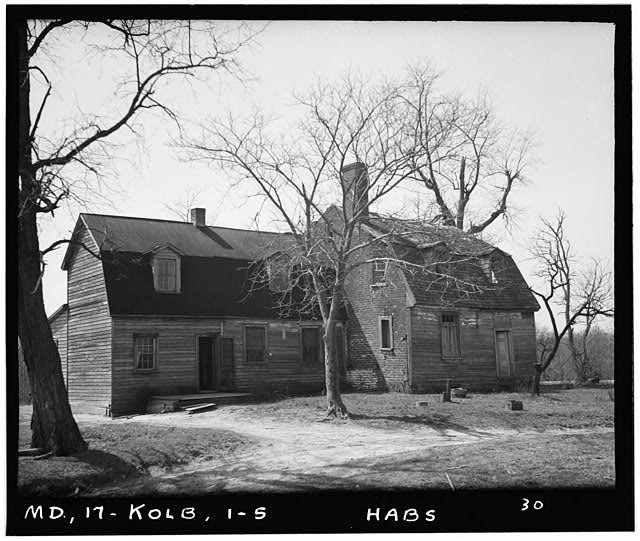5.  Historic American Buildings Survey Delos H. Smith, Photographer 1936 - Friendship, Kolbies Corner, State Routes 214 & 556, Largo, Prince George's County, MD