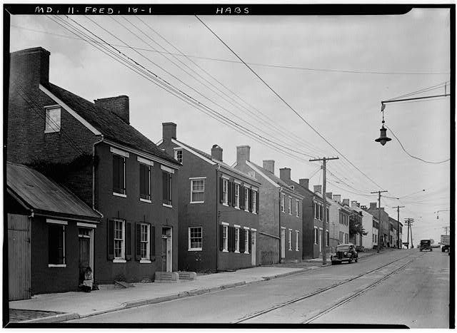 1.  Historic American Buildings Survey E.H. Pickering, Photographer Sept. 1936 - 324-344 West Patrick Street (Houses), Frederick, Frederick County, MD