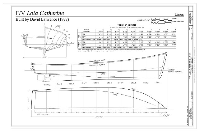 F/V Lola Catherine Lines - Fishing Vessel Lola Catherine, Bushwood, St. Mary's County, MD