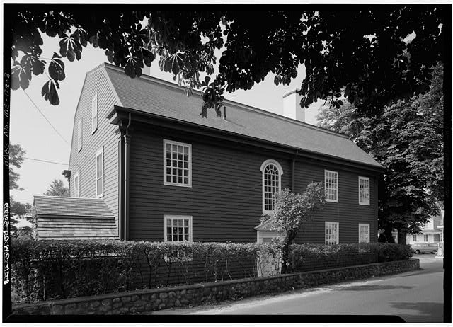 3.  NORTH REAR AND EAST SIDE - William Pepperrell House, State Route 103, Kittery Point, York County, ME