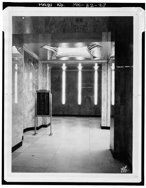 27.  Main floor lobby - St. Paul City Hall &amp; Ramsey County Courthouse, 15 West Kellogg Boulevard, Saint Paul, Ramsey County, MN