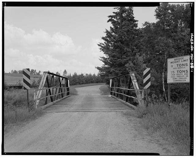 1.  South approach, looking north - Bridge No. 92101, Spanning Pike River at County Highway 373, Embarrass, St. Louis County, MN