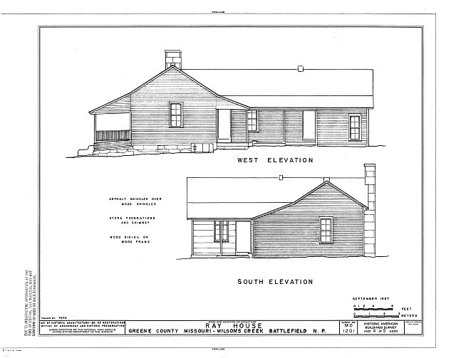 HABS MO,39-SPRIF.V,1A- (sheet 4 of 5) - Ray House, Springfield, Greene County, MO