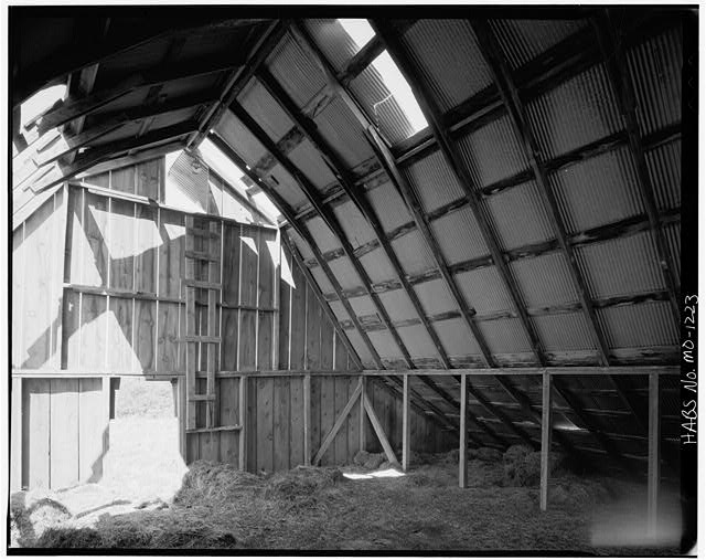 8.  Historic American Buildings Survey David J. Kaminsky, Photographer August 1978 INTERIOR LOFT WEST AND NORTH WALLS - Rueben Ross Barn, Clinton County Line vicinity, Smithville, Clay County, MO