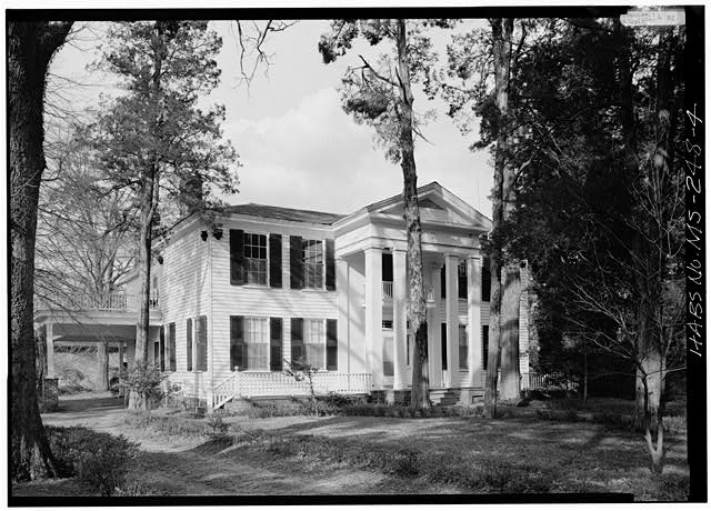 4.  South front and west side - Rowan Oak, Old Taylor Road, Oxford, Lafayette County, MS