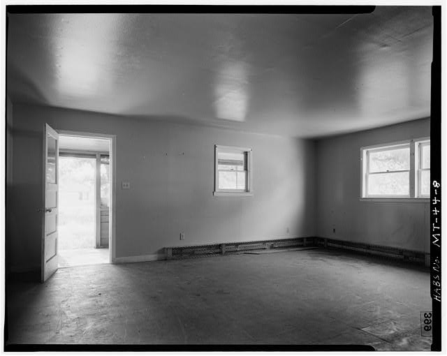 8.  Front Living Room - U. S. Indian Service Laborer's Cottage, Lame Deer, Rosebud County, MT