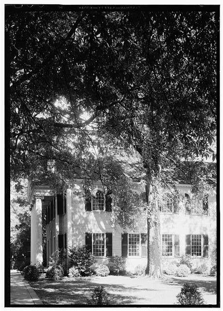 6.  Historic American Buidings Survey, Thomas T. Waterman, Photographer July, 1940 DETAIL OF EAST ELEVATION. - First Presbyterian Church, New & Middle Streets, New Bern, Craven County, NC