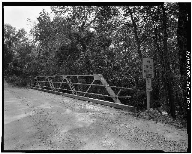 1.  VIEW OF WESTERN PORTAL - North Carolina Route 2408 Bridge, Spanning Bull Creek, Asheville, Buncombe County, NC