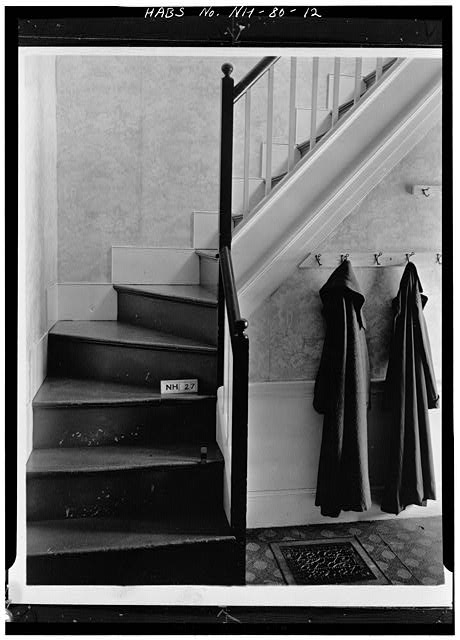 12.  REAR STAIRWAY - Wheeler House, Orford Street, Orford, Grafton County, NH