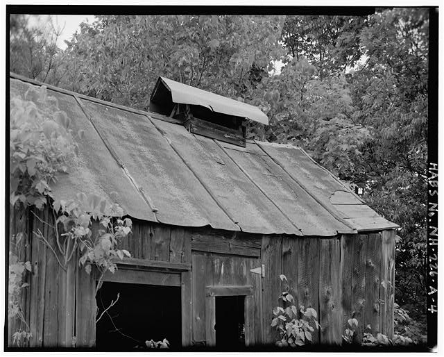 4.  Detail of roof ventilator - Harvey L. White Farm, Sap House, East side of Route 202, approximately 600 feet north of Hillsborough-Antrim town line, Hillsboro, Hillsborough County, NH