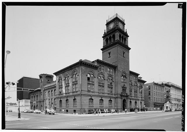 2.  MAIN ELEVATION AND TENNESSEE AVENUE ELEVATION - City Hall, Atlantic & Tennessee Avenues, Atlantic City, Atlantic County, NJ