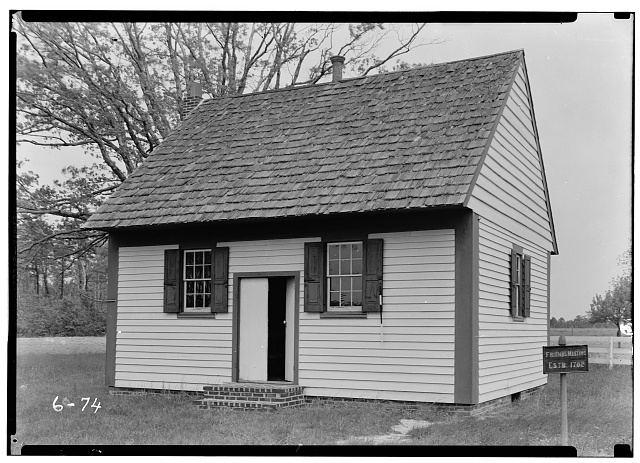 - Friends' Meeting House, Shore Road, West side (State Route 9), Seaville, Cape May County, NJ