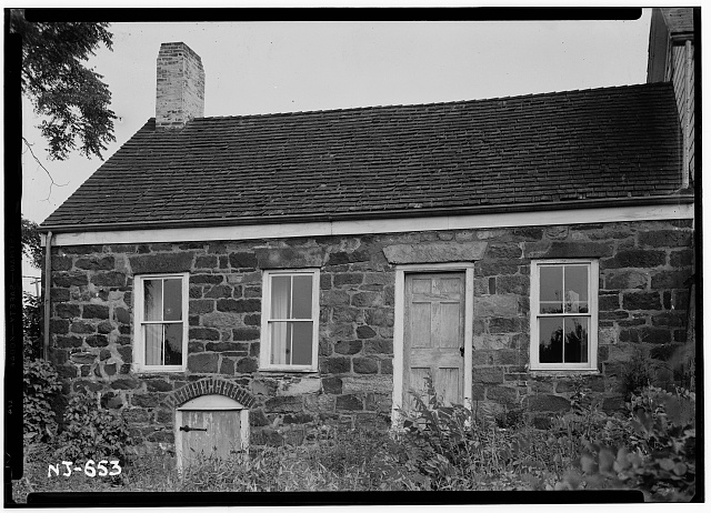 1.  Historic American Buildings Survey R. Merritt Lacey, Photographer July 30, 1940 EXTERIOR - SOUTH VIEW - Henry Francisco House, Allen Road, North Caldwell, Essex County, NJ