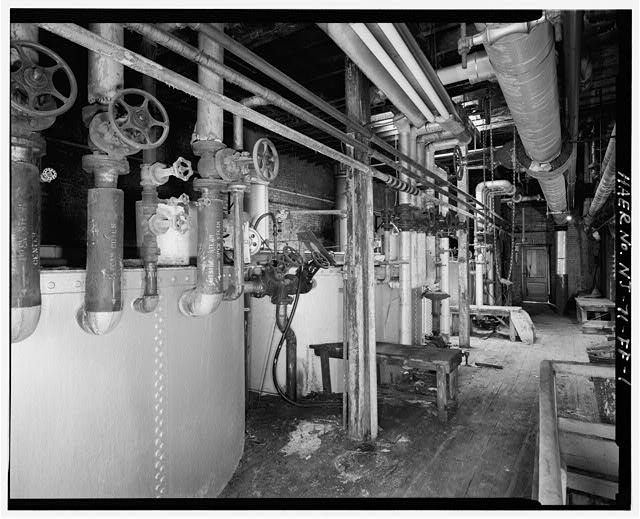 1.  THIRD FLOOR TO SOUTH, WITH OIL TREATING TANKS - Colgate & Company Jersey City Plant, Building No. D-9, 35 Sussex Street, Jersey City, Hudson County, NJ