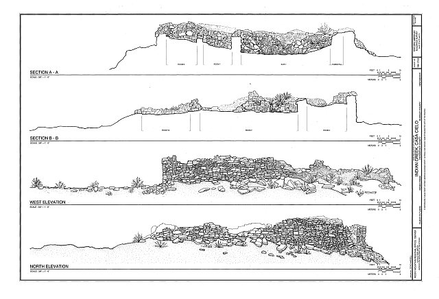HABS NM16-CROPO.V,2B- (sheet 2 of 2) - Indian Creek, Casa Cielo, Indian Creek, Crownpoint, McKinley County, NM