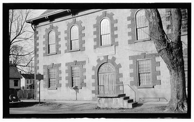5.  Historic American Buildings Survey, Thos. T. Waterman, Photographer '36. - First Dutch Reformed Church, Main Street, Fishkill, Dutchess County, NY