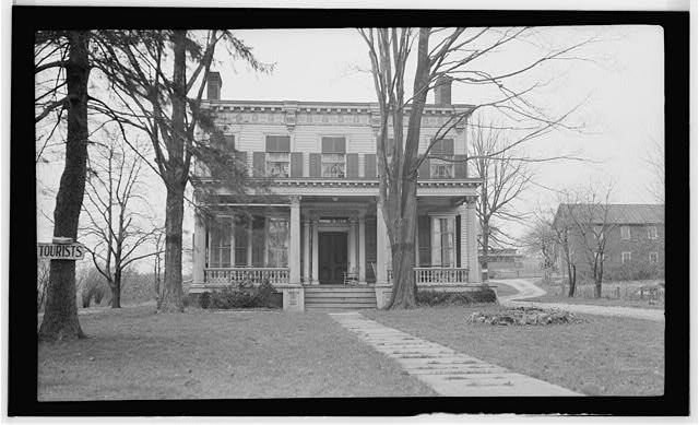 1.  Historic American Buildings Survey, Thos. T. Waterman, Photographer '36. - Classic House, Brinkerhoff Road, Fishkill, Dutchess County, NY