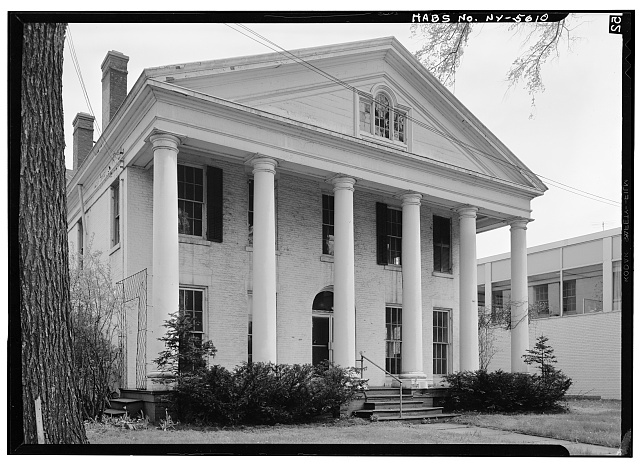 2.  Historic American Buildings Survey, May 1965, WEST (FRONT) ELEVATION. - Ansley Wilcox House, 641 Delaware Avenue, Buffalo, Erie County, NY