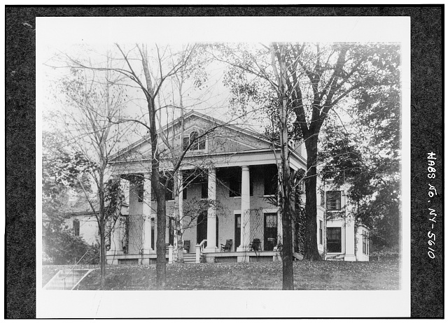 7.  Historic American Buildings Survey, Photocopy of undated photograph from the collection of Buffalo and Erie County Historical Society. - Ansley Wilcox House, 641 Delaware Avenue, Buffalo, Erie County, NY