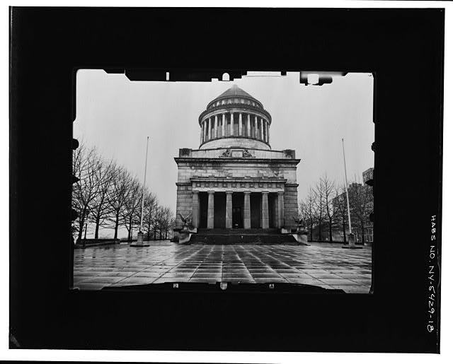 18.  SOUTH (FRONT) ELEVATION--INCLINED Copy photograph of photogrammetric plate LC-HABS-GS05-T-2564-102L. - Grant's Monument, Riverside Drive & West 122nd Street, New York, New York County, NY