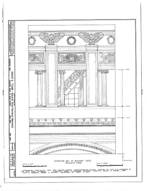 HABS NY,31-NEYO,69- (sheet 7 of 8) - Grant's Monument, Riverside Drive & West 122nd Street, New York, New York County, NY