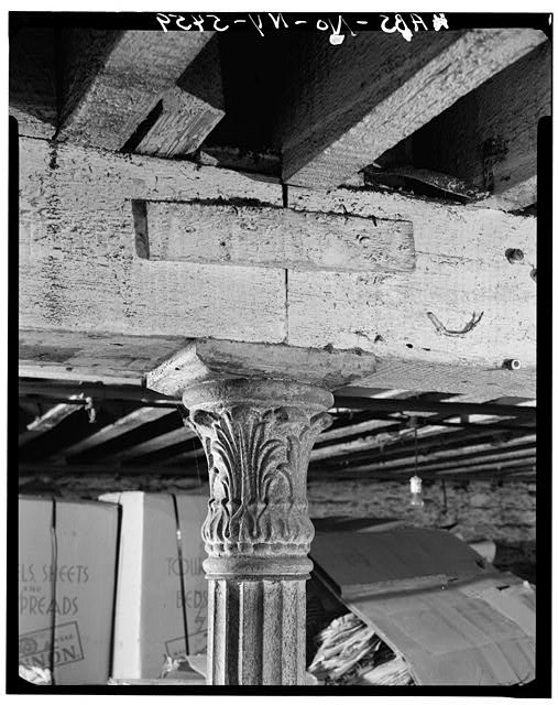 10.  Historic American Buildings Survey, Cervin Robinson, Photographer August 1970, SUBCELLAR CAPITAL. - E. V. Haughwout & Company Building, 488-492 Broadway, New York, New York County, NY