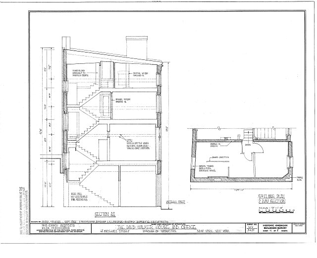 HABS NY,31-NEYO,123- (sheet 4 of 5) - David Walker House & Office, 45 Whitehall Street, New York, New York County, NY