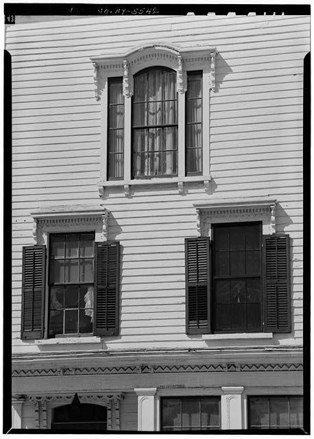 6.  Historic American Buildings Survey, 1963, WINDOW, SOUTH ELEVATION. - Sheldon Hyde House, 97 Second Street, Deposit, Broome County, NY