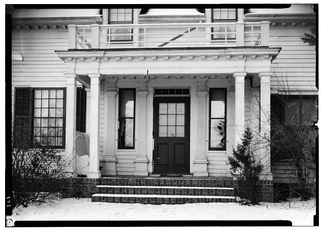 3.  Historic American Buildings Survey, 1937, N. E. Baldwin, Photographer, SOUTHWEST ELEVATION. - Spencer-Hinds House, Kinderhook, Columbia County, NY