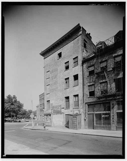 3.  FRONT STREET, ELEVATION - Jacob Houseman House, 49 Whitehall Street, New York, New York County, NY
