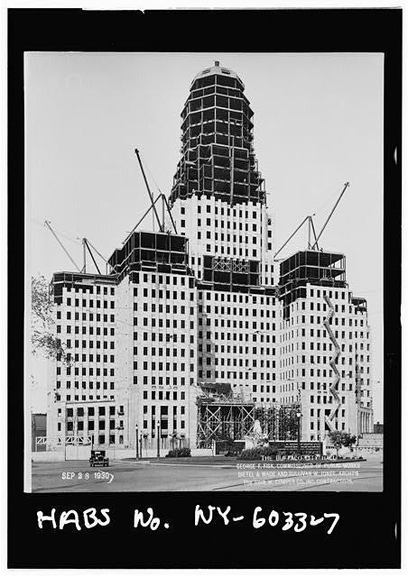 7.  City Hall under construction,Sept. 28,1930 - Buffalo City Hall, 65 Niagara Square, Buffalo, Erie County, NY