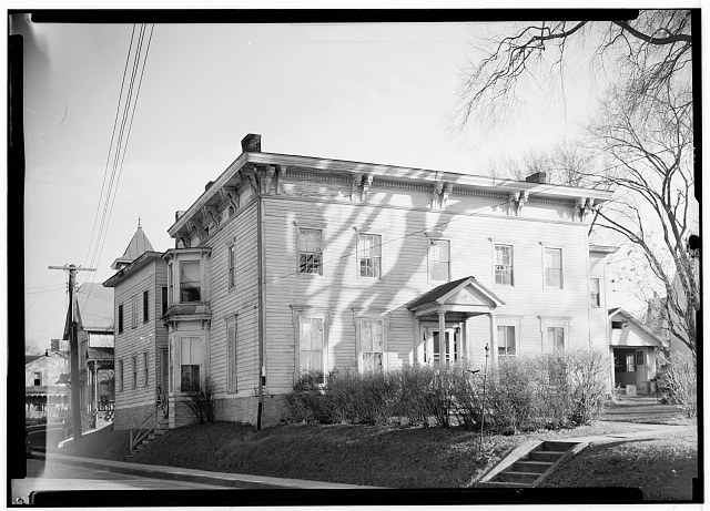1.  Historic American Buildings Survey, Nelson E. Baldwin, Photographer May 12, 1936, VIEW-FRONT ELEVATION-UNION HALL JOHNSTOWN, N Y. - Union Hall, East Main Street, Johnstown, Fulton County, NY