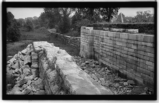 1.  Historic American Buildings Survey, Walter H. Cassebeer, Photographer May 1936, SOUTH LOCK (LOOKING EAST). - Erie Canal Locks, Ilion, Herkimer County, NY