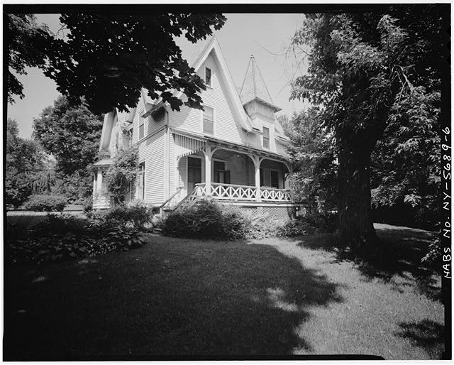6.  SOUTHEAST ELEVATION - William Wright House, Interstate Highway 84, Newburgh, Orange County, NY