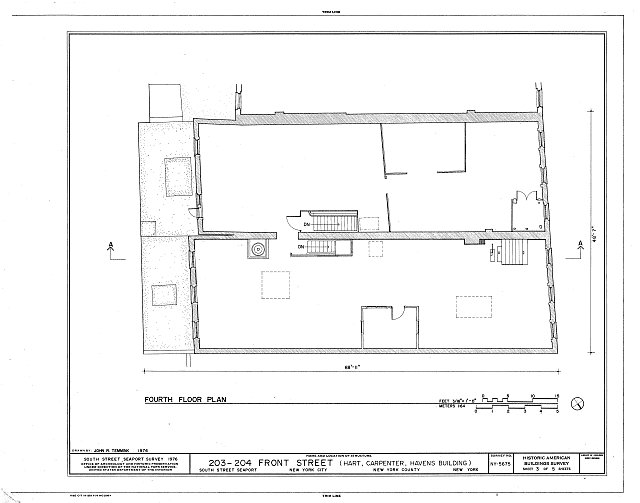 HABS NY,31-NEYO,132- (sheet 3 of 5) - South Street Seaport Museum, 203-204 Front Street, New York, New York County, NY