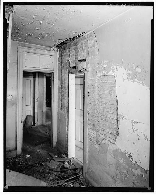 4.  SECOND FLOOR, HALLWAY - Jacob Houseman House & Office, 2 Front Street, New York, New York County, NY