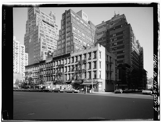 4.  824-840 SECOND AVENUE GENERAL VIEW - United Nations Vicinity Area Study, Second Avenue, East Forty-first, East Forty-third, East Forty-fourth, East Forty-eighty, & East Forty-ninth Streets, New York, New York County, NY