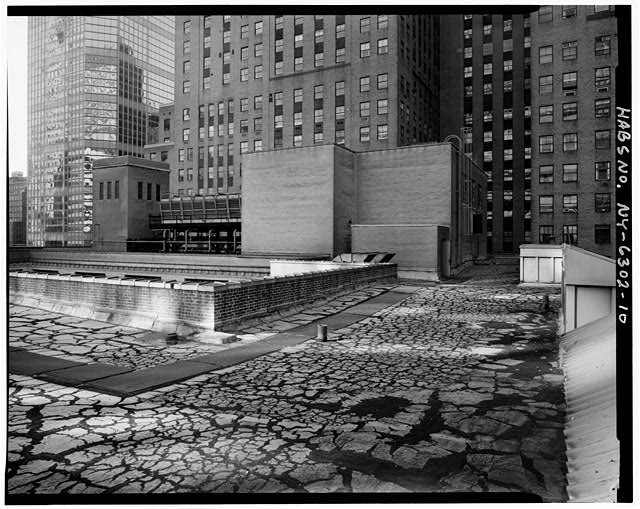 10.  ROOF, LOOKING SOUTHEAST - Grand Central Post Office Annex, Forty-fifth Street & Lexington Avenue, Southwest corner, New York, New York County, NY
