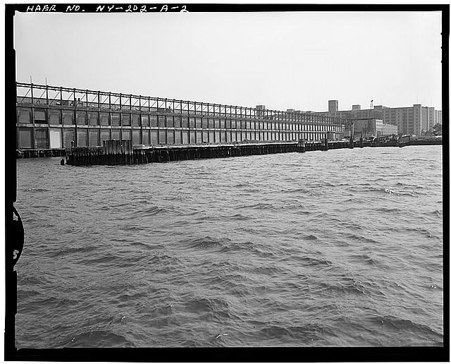 2.  PIER 1 TO EAST - Brooklyn Army Supply Base, Pier 1, Upper New York Bay, opposite Sixty-third Street, Brooklyn, Kings County, NY
