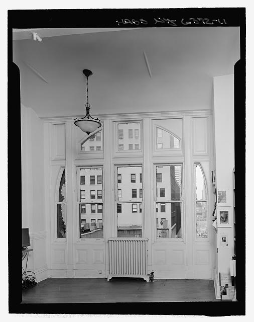 Room 405, West Elevation Window - Corbin Building, 11 John Street, New York, New York County, NY