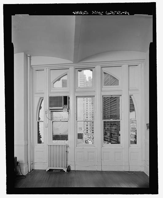 Room 405, South Elevation Window  - Corbin Building, 11 John Street, New York, New York County, NY