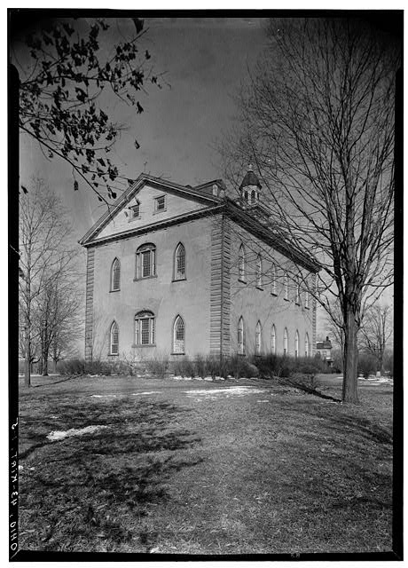 5.  Historic American Buildings Survey, Carl F. Waite, Photographer April, 1934 SOUTHWEST ELEVATION. - Kirtland Temple (Mormon), 9020 Chillicoth Road, Kirtland, Lake County, OH