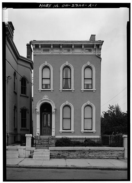 1.  SOUTH FRONT - 808 Dayton Street (House), Cincinnati, Hamilton County, OH