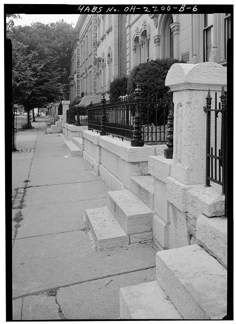 4.  NEW IRON FENCE ACROSS FRONT - Skaats-Hauck House, 812 Dayton Street, Cincinnati, Hamilton County, OH