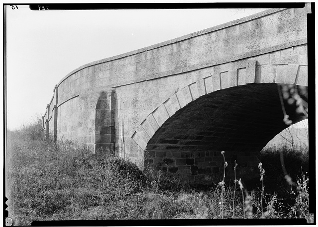 "4.  Historic American Buildings Survey, A.S. Burns, Photographer November 28, 1933 'S' BRIDGE, WEST OF CAMBRIDGE. - ""S"" Bridge, West of Cambridge, Cambridge, Guernsey County, OH"